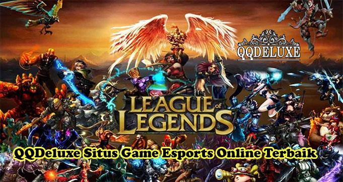 QQDeluxe Situs Game Esports Online Terbaik